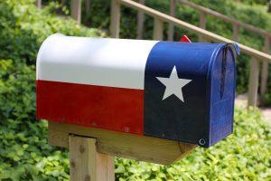 texas flag mailbox